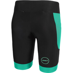 Zone3 Aquaflo+ Tri Shorts Women black/grey/mint